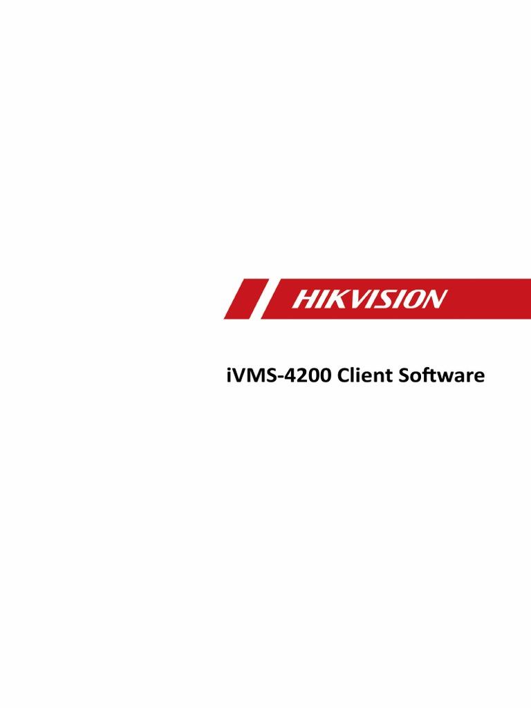 User Manual Hikvision | Access Control | 64 Bit Computing