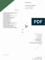 Dennett - La Conciencia Explicada Caps 5, 7 y 9