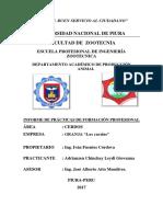 Informed de Gallinas a Entregar