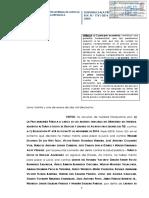 R.N. 1761-2016 - Lima - Lavado de Activos - TID - Caso El Holandes - Nulidad de lo actuado y se ordene realizar un nuevo juicio oral donde se debera actuar nuevamente la prueba