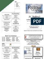 St Andrews Bulletin 012019