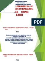 INSTITUTO LATINOAMERICANO DE CRIMINALÍSTICA Y CIENCIAS     FORENSES.pptx