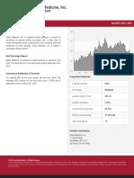 Editas Stock report