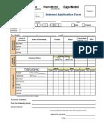 Exxon Mobil Corp Application Form