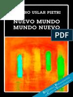 USLAR PIETRI, Arturo. Nuevo mundo mundo nuevo.pdf