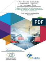 Cuarto Foro Mundial de Ciudades y Plataformas Logísticas