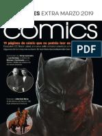 Comunicado Extra de Novedades de ECC Ediciones Marzo 2019 y Revista Sugoi