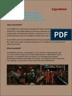 ExxonMobil Corporation Job Details