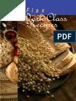 Flax Cookbook