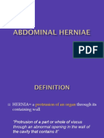 Abdominal Herniae 2017