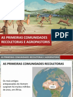 As Primeiras Comunidades Recoletoras Agropastoris