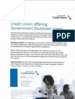 shutdown loan
