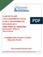 Plan de Clase Fce Segundo Secundaria (1)