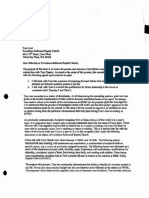 Devon Berry Letter Concerning Counseling Tom Chantry