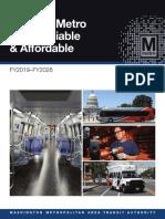 Metro Strategic Plan FY2019-28