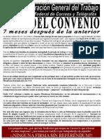 COMUNICADO 7ª reunión del III Convenio