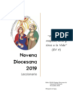 Novena Diocesana 2019 - Leccionario