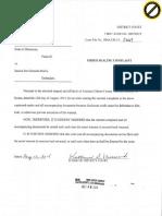 Warrant Order Sealing (1)