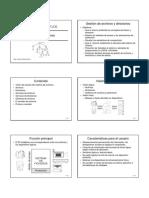 Sistemas operativos. Sistemas de ficheros