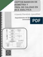 Conceptos Basicos de Quimiometria y Control de Calidad en Quimica Analitica