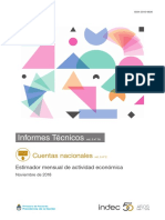 Actividad Económica - Indec