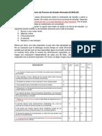 Cuestionario de Proceso de Estudio Revisado