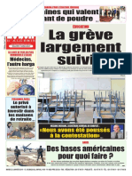 Journal Le Soir Dalgerie Du 22-01-2019