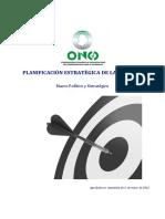 Plan Estrategico Congdex 2012-2016