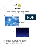 Día y noche 1º básico