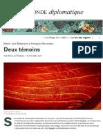 Artigo Do Monde Diplomatique