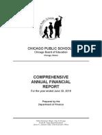 Chicago Public Schools FY18 annual financial report
