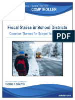 Fiscal Stress School Year 2017 18