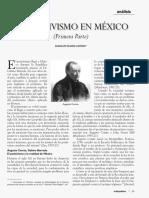 14.- Álvarez, Guadalupe - El Positivismo en México
