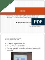 ROSE Curs - Introductiv 19.01 CO