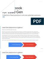 Leadgen Ux Playbook