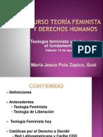 Curso de Teología Feminista y Derechos Humanos