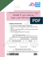 EE Proficiency 118