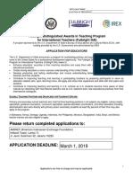 FY19 Fulbright DAI Program Application Writable Final