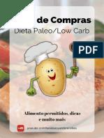 Lista de Compras Dietas Paleo e Low Carb