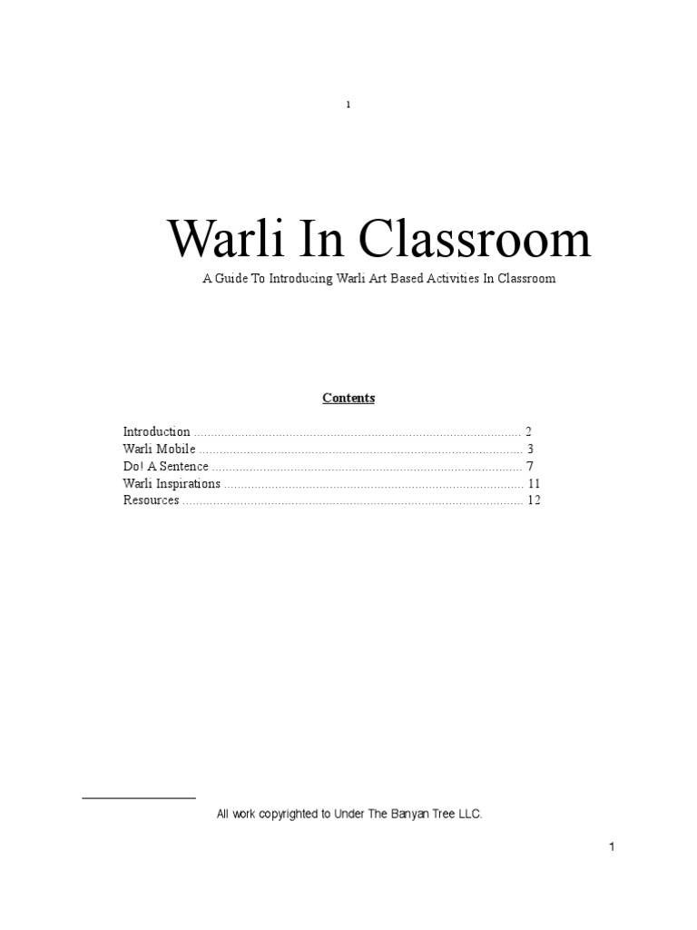 warlilessonplanfinal classroom grammatical tense