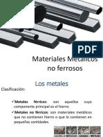Materiales Metalicos No Ferreos