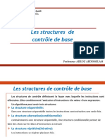 Cours Algorithme Structure Conditionnelle