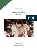 "Analisi film ""Arancia Meccanica"""