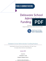 School Administrator Funding Analysis 1-11-19