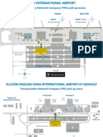 Hawaii Airport Pickup Zones