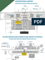 Hawaii Airport Pickup Zones