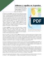 Variedades de Calabazas y Zapallos en Argentina