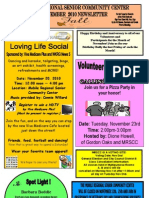 MRSCC November 2010 Newsletter