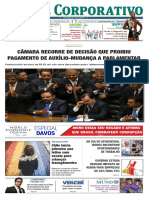 Jornal Corporativo Número 3040 de 25,26 e 27 de Janeiro de 2019