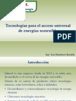 Tecnologias de Energias Renovables - Inkasol